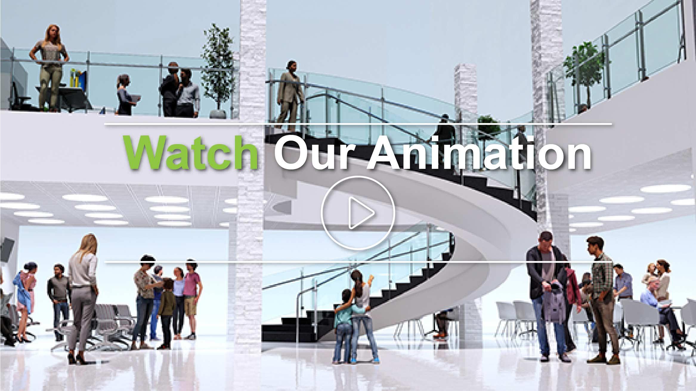 Gulfport Transit Circular Staircase Animation